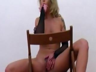 Gorgeous Blonde Milf Exposes Herself