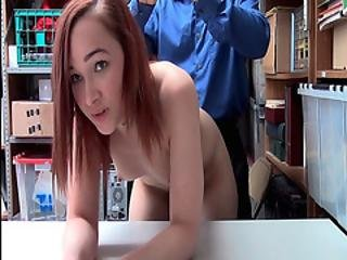 April Reids Twat Gets Fucked From Behind By The Lp Officer