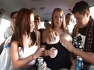 Cul, Badass, Gros Sein, Seins, Nique, Gangbang, Sexe En Groupe, Hardcore, Publique, Sexe
