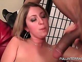 Blonde Vibes Her Muff And Eats Black Shaft
