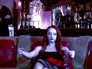 Slutty Gorgeous Vampire Wants A Taste Of Big Bloody Cock