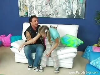 Brother Fucks Pigrailed Teen Sister