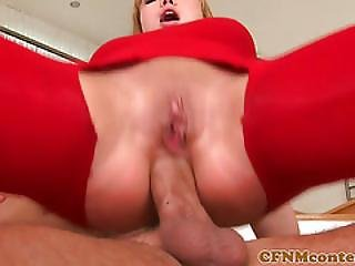 Women Fucked Anal During Cfnm Groupsex