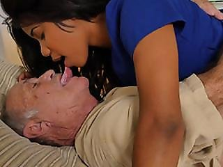 Nurse Lily Examined Frankie And Then Gave Him A  Blow Job