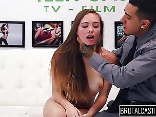 Teen From Whorelando Gets Rough Sex On Brutal Casting