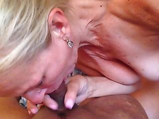 Friends Mom Sucks My Cock On Boat