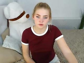 alene, webcam, ung