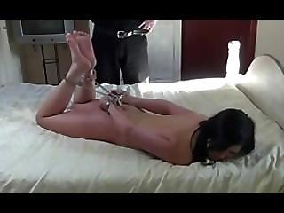 Hogcuffed Foot Torture