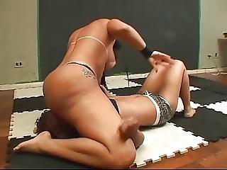 Brazilian, Butt, Domination, Facesitting, Femdom, Wrestling