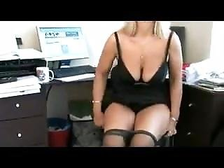 Amateur, Masturbation, Mature, Milf, Office