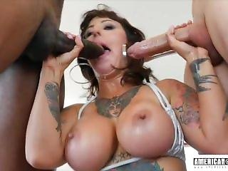 Dollie Darko Double Penetration Anal Fuck At American-pornstar