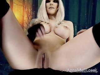 Grandes Mamas, Loira, Masturbação, Estrela Porno, Cãmara Web
