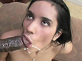 Compact Cutie Tia Cyrus Fucks And Takes The Cum On Her Face