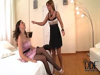Angel, Big Tit, Black, Fetish, Foot, French, Insertion, Kissing, Lesbian, Lick, Masturbation, Panties, Pantyhose, Pussy, Pussy Lick, Tattoo, Toes