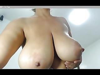 Huge Milky Tits Latina With Great Body