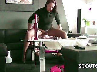German MILF Hooker in Nylon get Fuck
