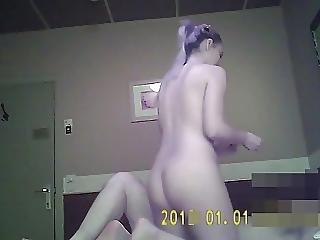 Blond Woman Fucked In Ass On Hidden Cam