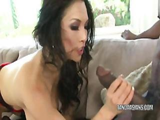 Mia Rider Gets Nailed With A Big Black Cock
