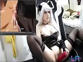 τέχνη, παιχνίδια, hentai, σόλο, webcam