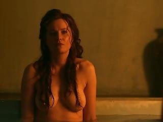Lucy Lawless, Viva Bianca - Spartacus Vengeance S2e06 Chosen Path