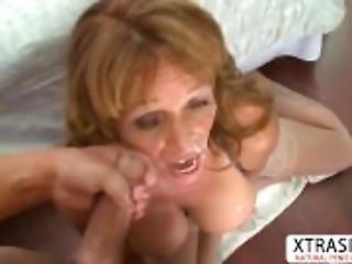 Natural tits Aunt Sheri Fox Seduces Good Tender Stepson