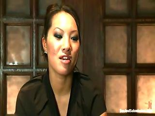 Asa Akira Punished In Bondage