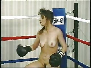 Naked Boxing Turn Catfight