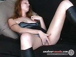 Jeane From 1fuckdate.com - Shy Redhead Scottish Geek Upskirt