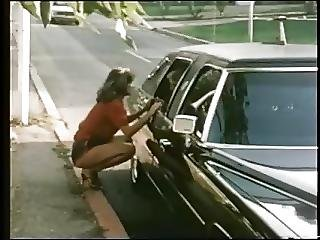 Hitch, Lesbian, Limo, Pornstar, Vintage