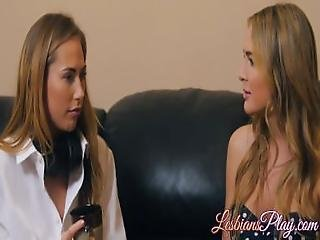 Hot Blair Williams And Carter Cruise Enjoying Lesbian Time