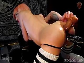 Horse Cock Anal Oil Rubbing Fetish Dp