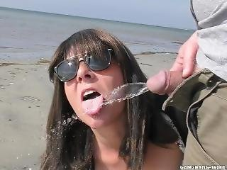 Brand New Pissing Escapades With Hot Wife Marion