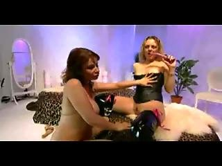 British Crystal Pink And Avalon Lesbian Sex