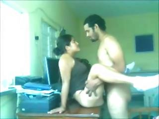 Arab Guy Fucking Beautiful Servent At Home