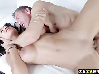 Amia Miley Fucks Like A Cowgirl On Top Dipping In That Big Cock