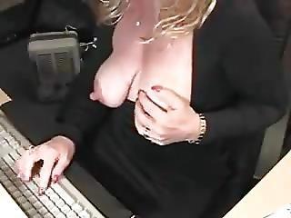 Americaans, Masturbatie, Volwassen, Milf, Webcam