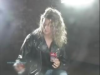 Smoking Rocker Girl