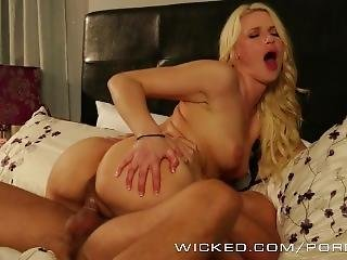 Wicked - Anikka Albrite And Her Bf, Fuck And Make Up