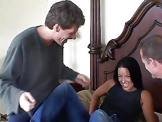 Hottie Drools For Big Cock