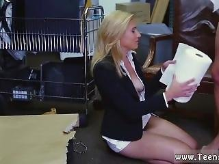 Sweedish Blond Hd Hot Milf Banged At The Pawnshop