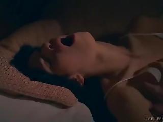 Darla Masturbating And Squirting In Stockings
