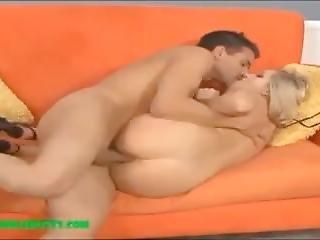 Bubble Ass Big Butt Sexy Cute Blond Gets Dick And Cum