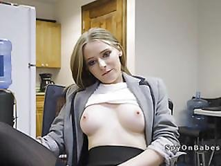 Nasty Secretary Fuck Her Perv It Guy After Work