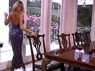 Blonde Lady In Dress Gets Assfucked