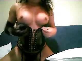 amatør, kamera pige, fondling, poser, webcam