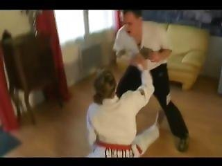 Alicia Karate Teacher