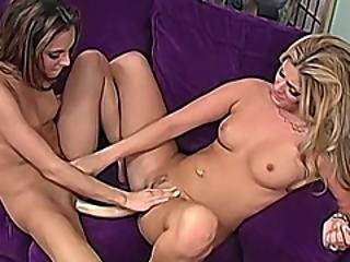 Beautiful Lesbian Amateurs Play For The First Time