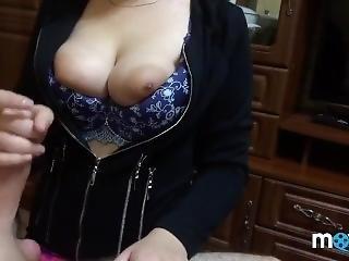 Amatér manželka berie veľký penis
