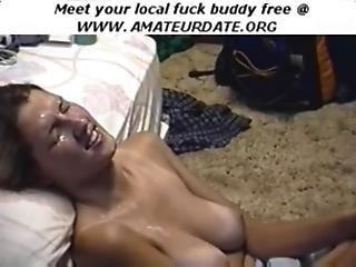Awesome Amateur Blonde Teen Facial Cumshot Handjob Masturbation Homemade