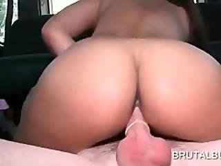 Big Ass Teen Jumping Large Dick In The Bus